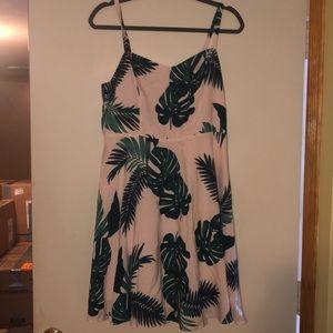 OLD NAVY palm cami dress